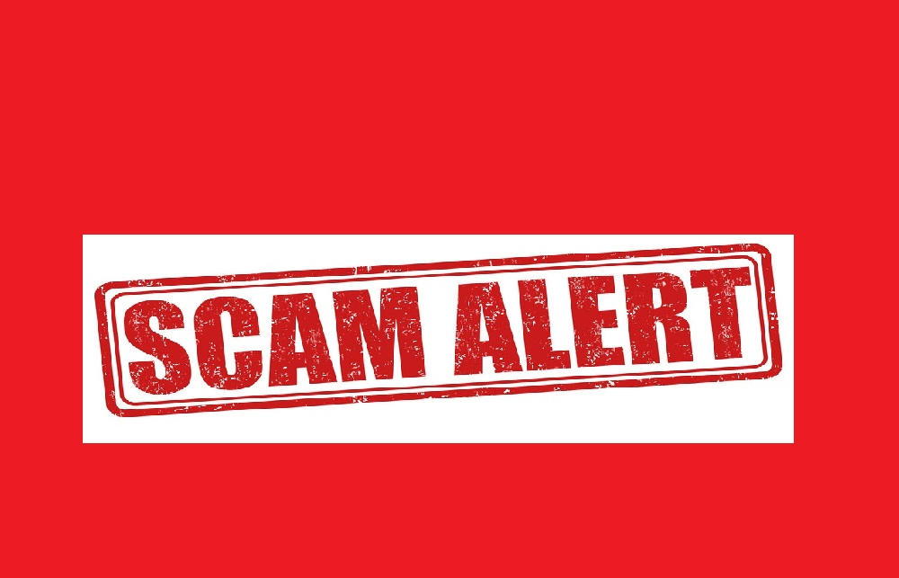 Please be alert against scams
